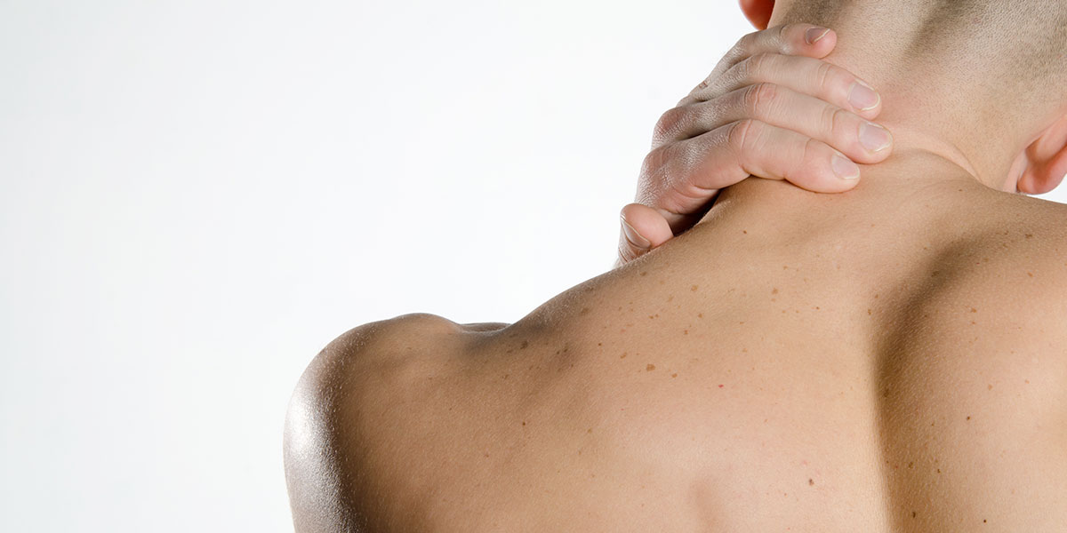neck pain banner